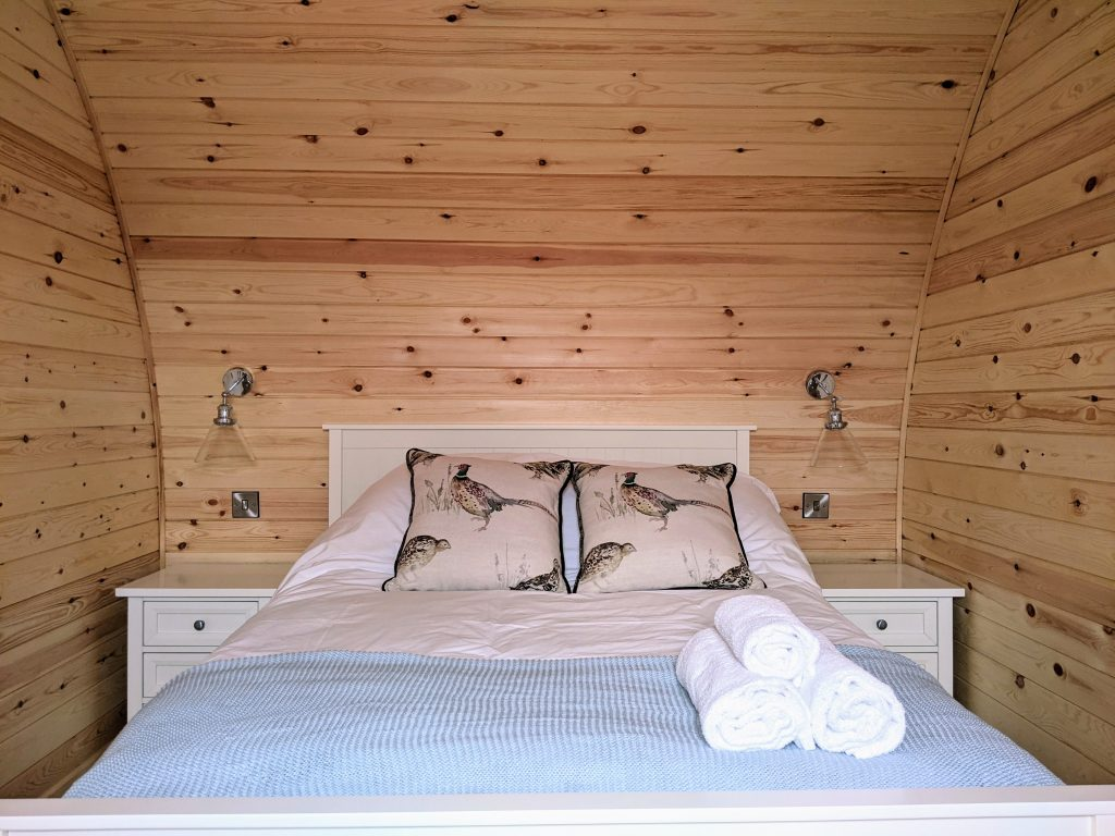 Double Bed Alpine Style Pods